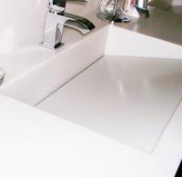 Great Custom Corian Sink. Private House. Asturias.