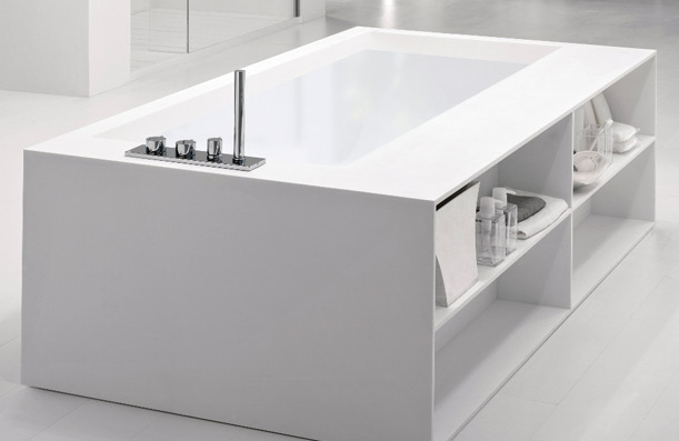 Muebles De Baño Gijon:Bañera y muebles de baño a medida en Corian